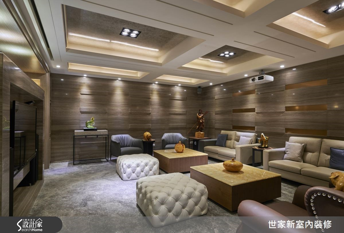 70坪老屋(16~30年)_新中式風客廳案例圖片_世家新室內裝修有限公司_世家新_10之11