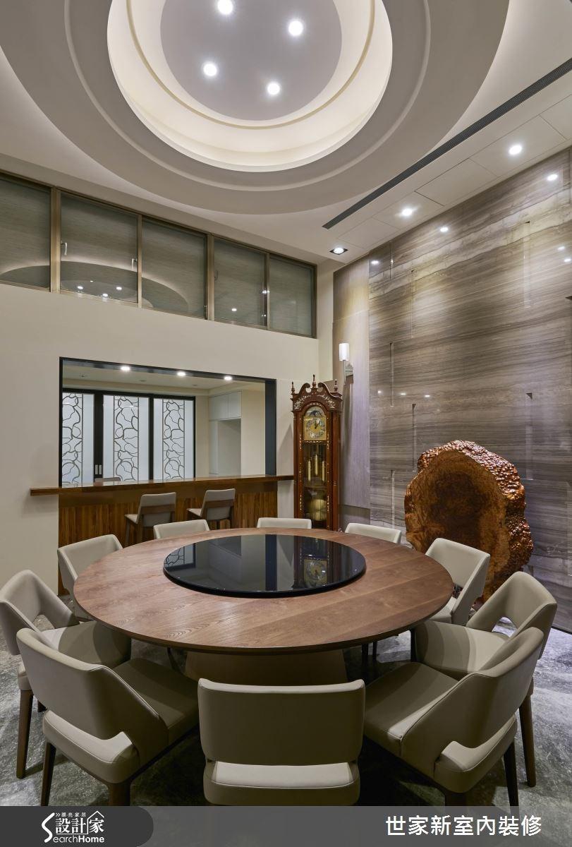 70坪老屋(16~30年)_新中式風餐廳案例圖片_世家新室內裝修有限公司_世家新_10之14