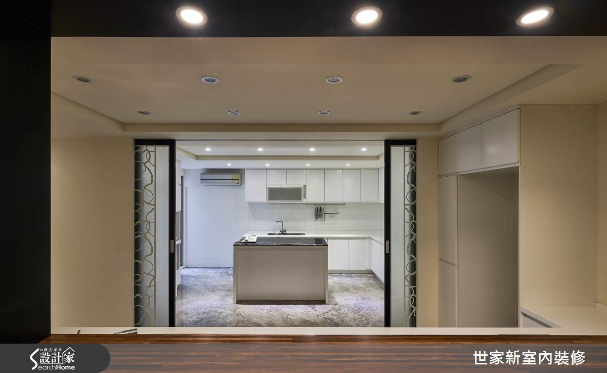 70坪老屋(16~30年)_新中式風廚房案例圖片_世家新室內裝修有限公司_世家新_10之15