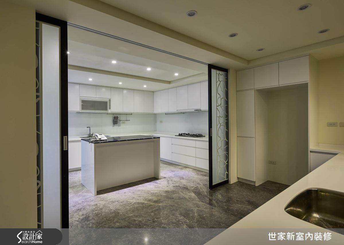 70坪老屋(16~30年)_新中式風廚房案例圖片_世家新室內裝修有限公司_世家新_10之16