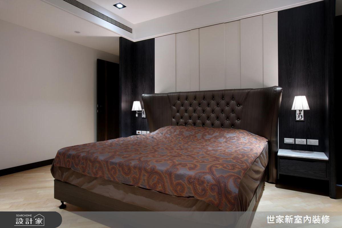 85坪新成屋(5年以下)_現代風臥室案例圖片_世家新室內裝修有限公司_世家新_13之11
