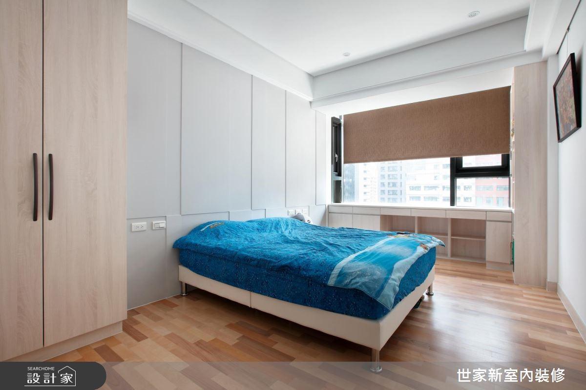 85坪新成屋(5年以下)_現代風臥室案例圖片_世家新室內裝修有限公司_世家新_13之14