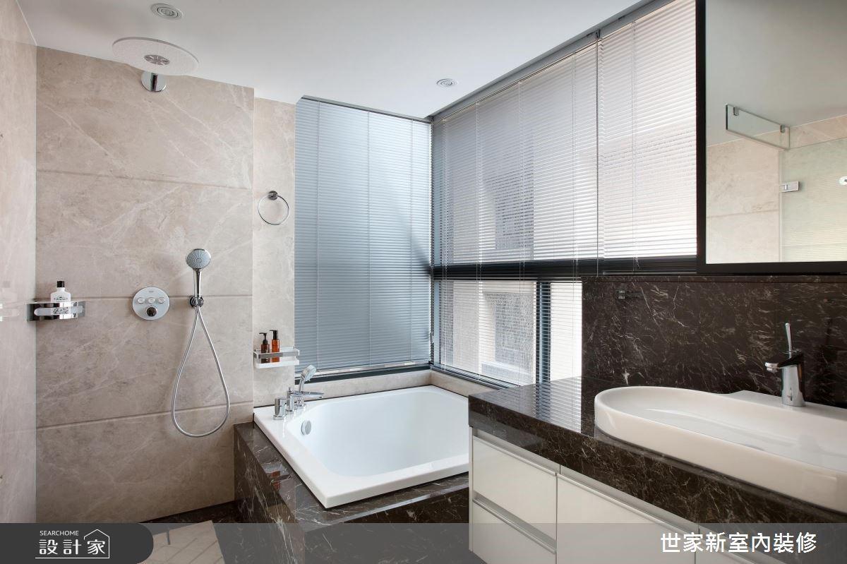 85坪新成屋(5年以下)_現代風浴室案例圖片_世家新室內裝修有限公司_世家新_13之15