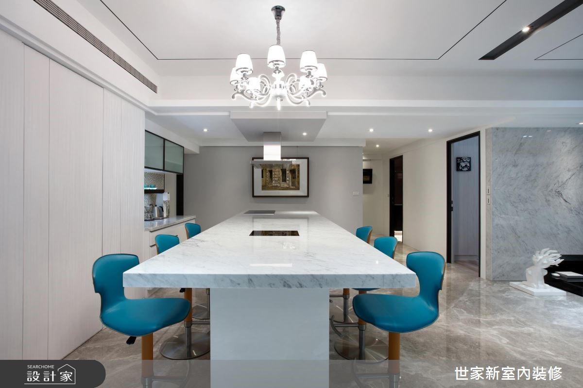 85坪新成屋(5年以下)_現代風吧檯案例圖片_世家新室內裝修有限公司_世家新_13之9