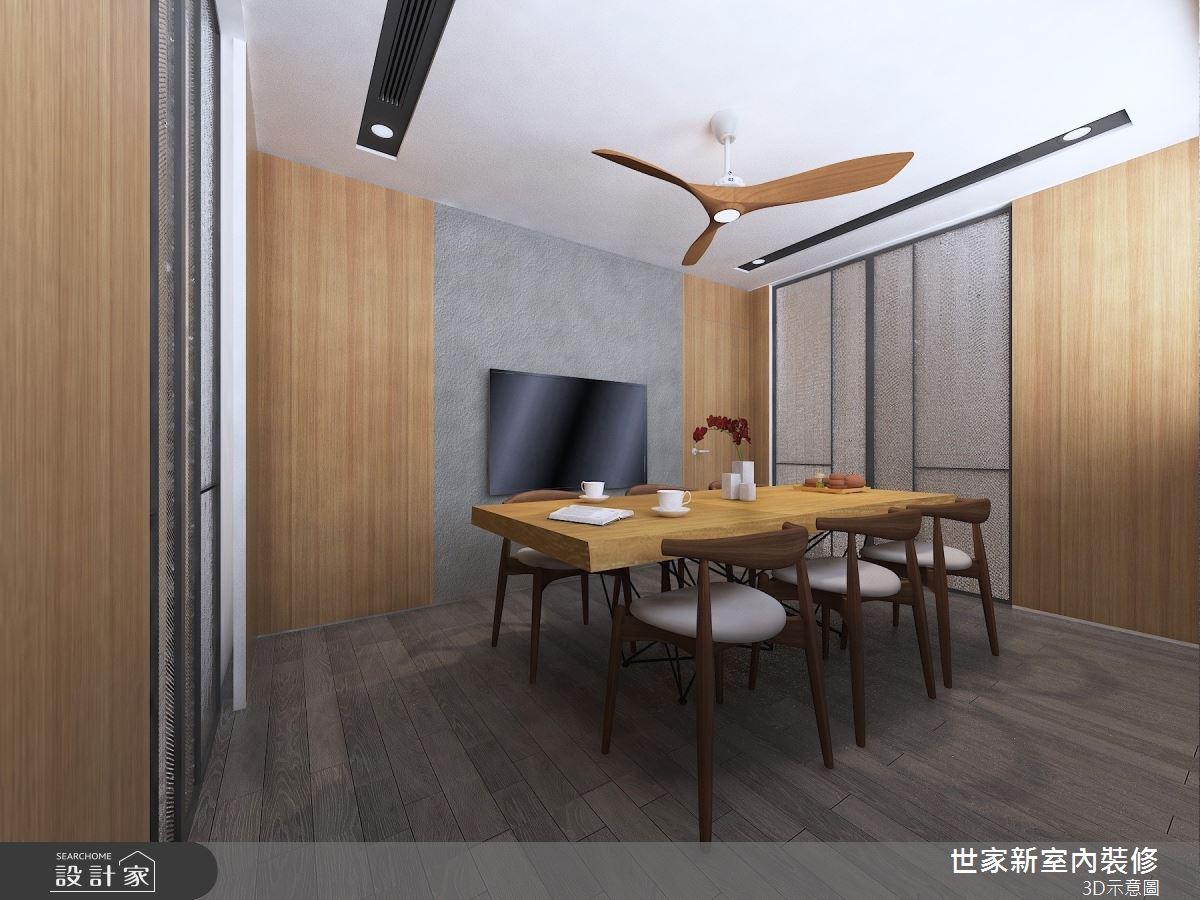 45坪老屋(16~30年)_人文禪風餐廳案例圖片_世家新室內裝修有限公司_世家新_22之4