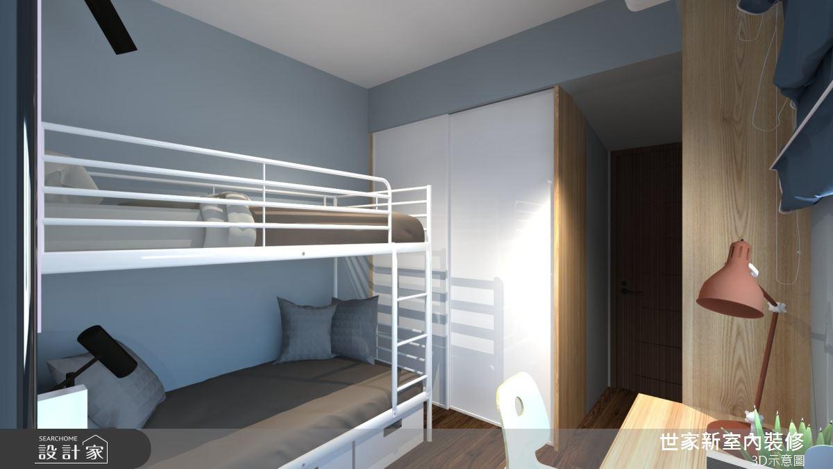 20坪預售屋_美式風臥室案例圖片_世家新室內裝修有限公司_世家新_25之11