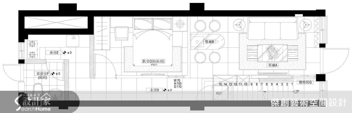 50坪老屋(16~30年)_現代風案例圖片_傑創藝術空間設計_傑創_02之18