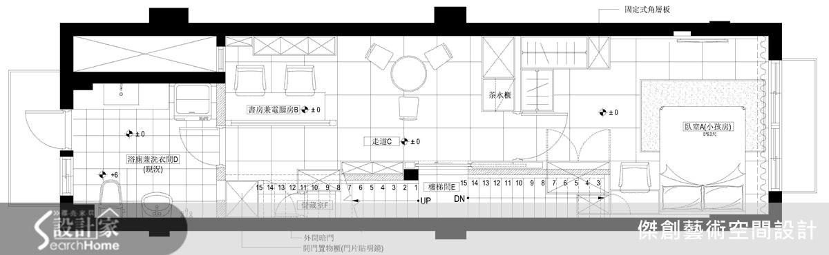 50坪老屋(16~30年)_現代風案例圖片_傑創藝術空間設計_傑創_02之17