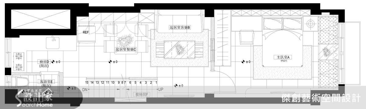 50坪老屋(16~30年)_現代風案例圖片_傑創藝術空間設計_傑創_02之20