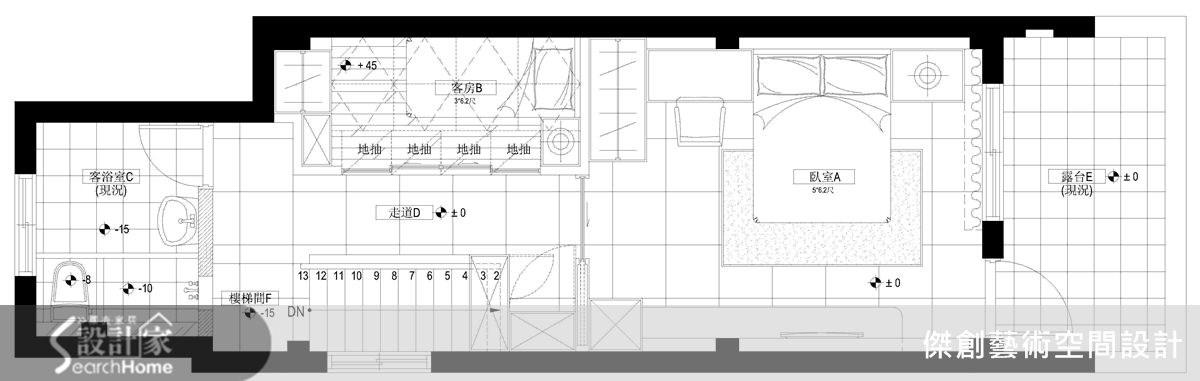 50坪老屋(16~30年)_現代風案例圖片_傑創藝術空間設計_傑創_02之19