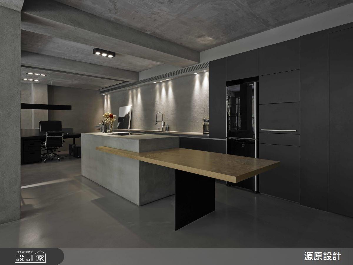 30坪老屋(16~30年)_現代風餐廳廚房案例圖片_源原設計 Peny Hsieh Interiors_源原_03之2