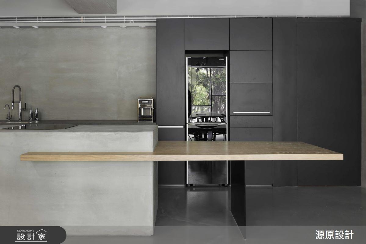 30坪老屋(16~30年)_現代風餐廳廚房案例圖片_源原設計 Peny Hsieh Interiors_源原_03之3