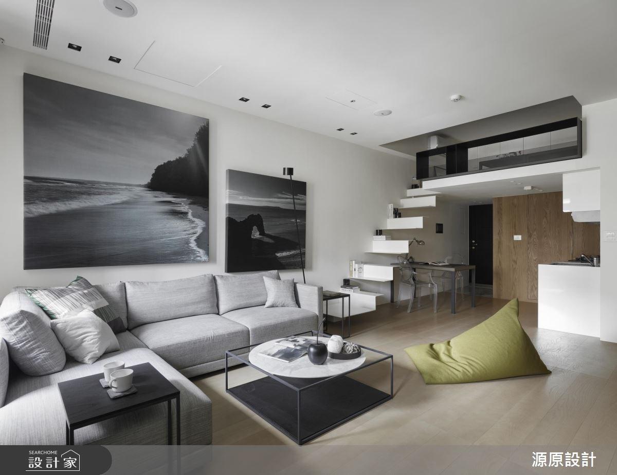 17坪新成屋(5年以下)_現代風客廳案例圖片_源原設計 Peny Hsieh Interiors_源原_09之3
