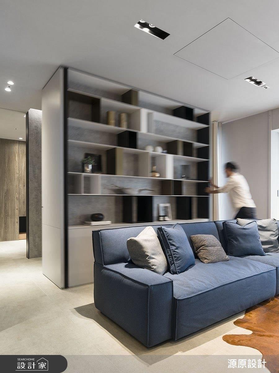 24坪新成屋(5年以下)_現代風客廳案例圖片_源原設計 Peny Hsieh Interiors_源原_12之3