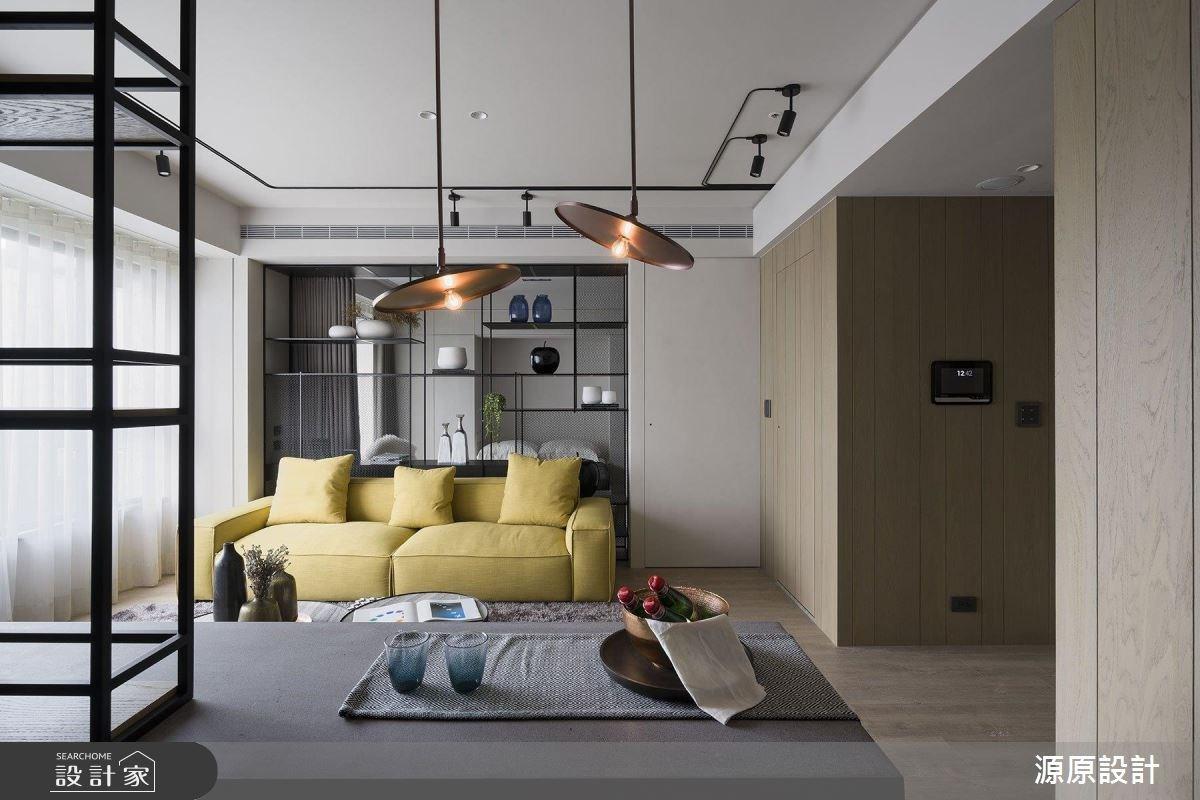 14坪新成屋(5年以下)_現代風客廳案例圖片_源原設計 Peny Hsieh Interiors_源原_13之3