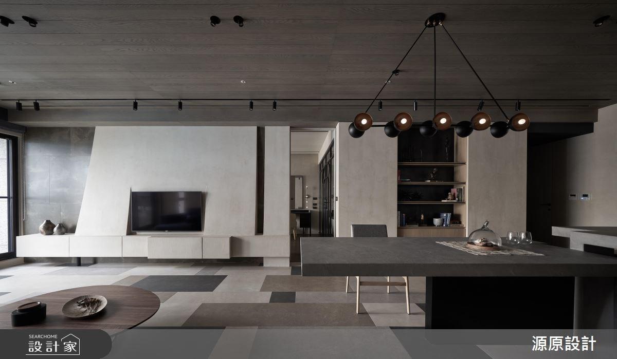 50坪新成屋(5年以下)_現代風客廳案例圖片_源原設計 Peny Hsieh Interiors_源原_17之2