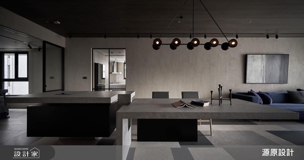 50坪新成屋(5年以下)_現代風餐廳案例圖片_源原設計 Peny Hsieh Interiors_源原_17之8