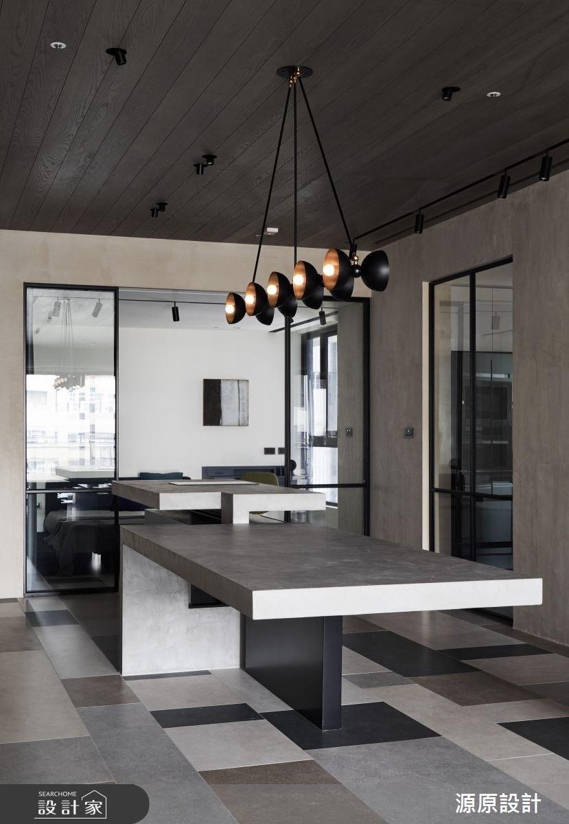 50坪新成屋(5年以下)_現代風餐廳案例圖片_源原設計 Peny Hsieh Interiors_源原_17之10
