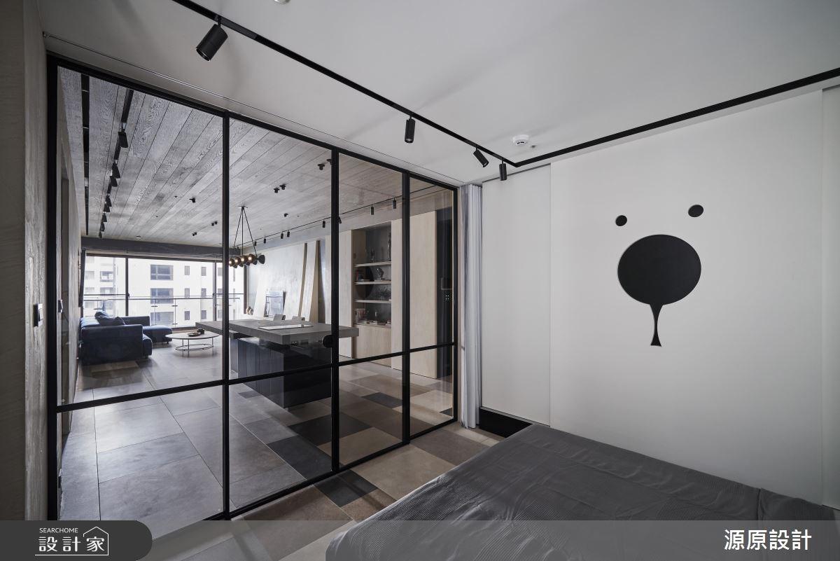 50坪新成屋(5年以下)_現代風臥室案例圖片_源原設計 Peny Hsieh Interiors_源原_17之11