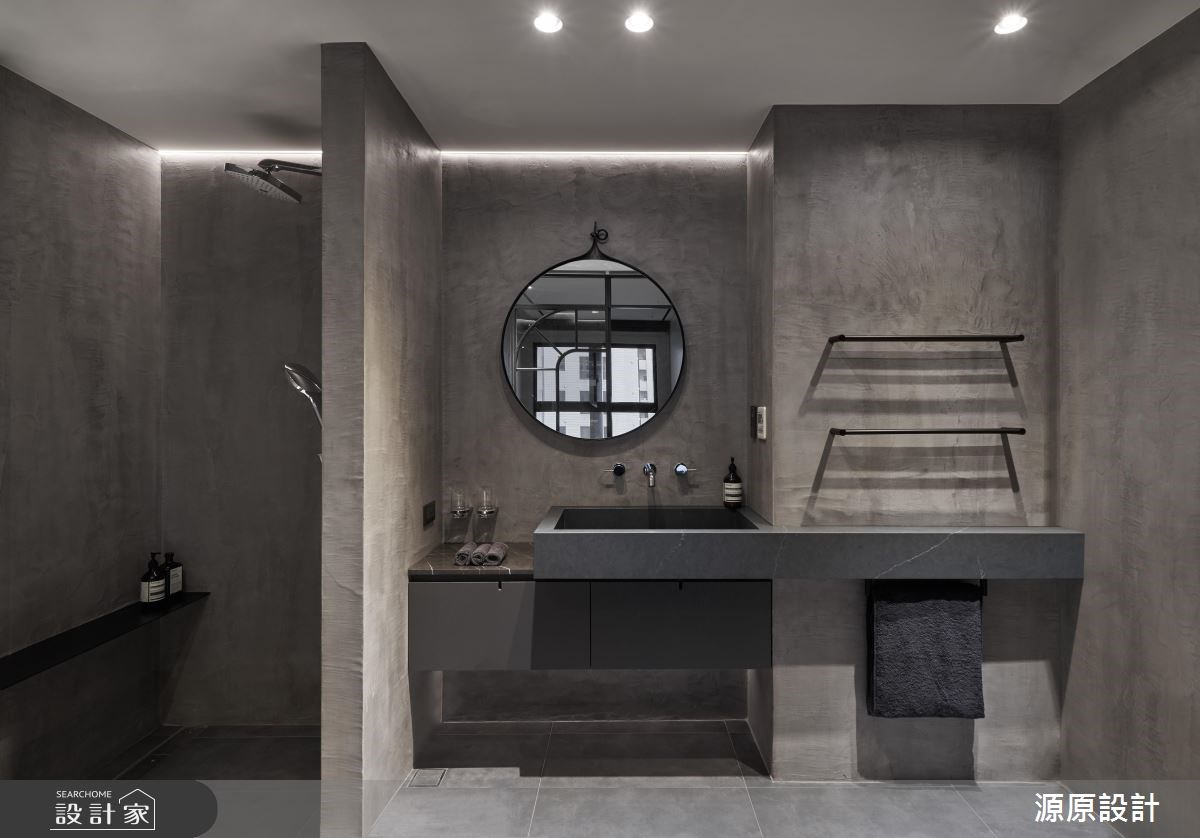 50坪新成屋(5年以下)_現代風浴室案例圖片_源原設計 Peny Hsieh Interiors_源原_17之13