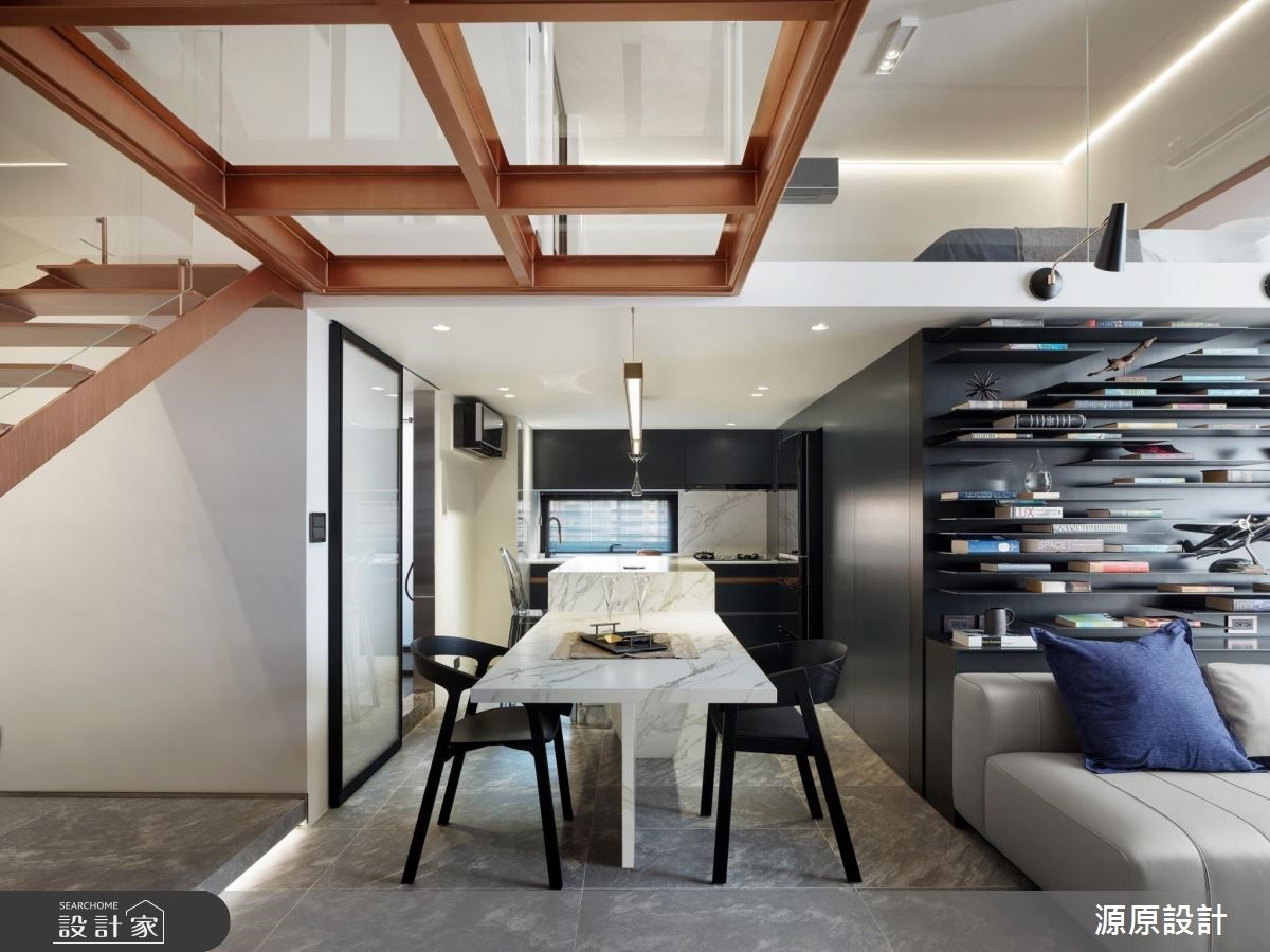 25坪老屋(16~30年)_現代風餐廳案例圖片_源原設計 Peny Hsieh Interiors_源原_18之3