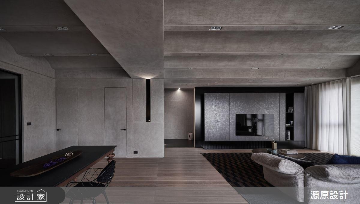 93坪新成屋(5年以下)_現代風客廳案例圖片_源原設計 Peny Hsieh Interiors_源原_19之3