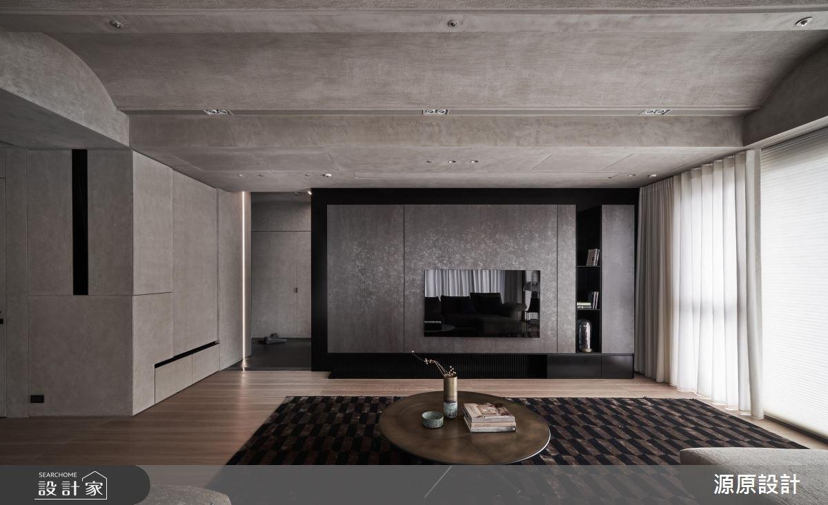 93坪新成屋(5年以下)_現代風客廳案例圖片_源原設計 Peny Hsieh Interiors_源原_19之4