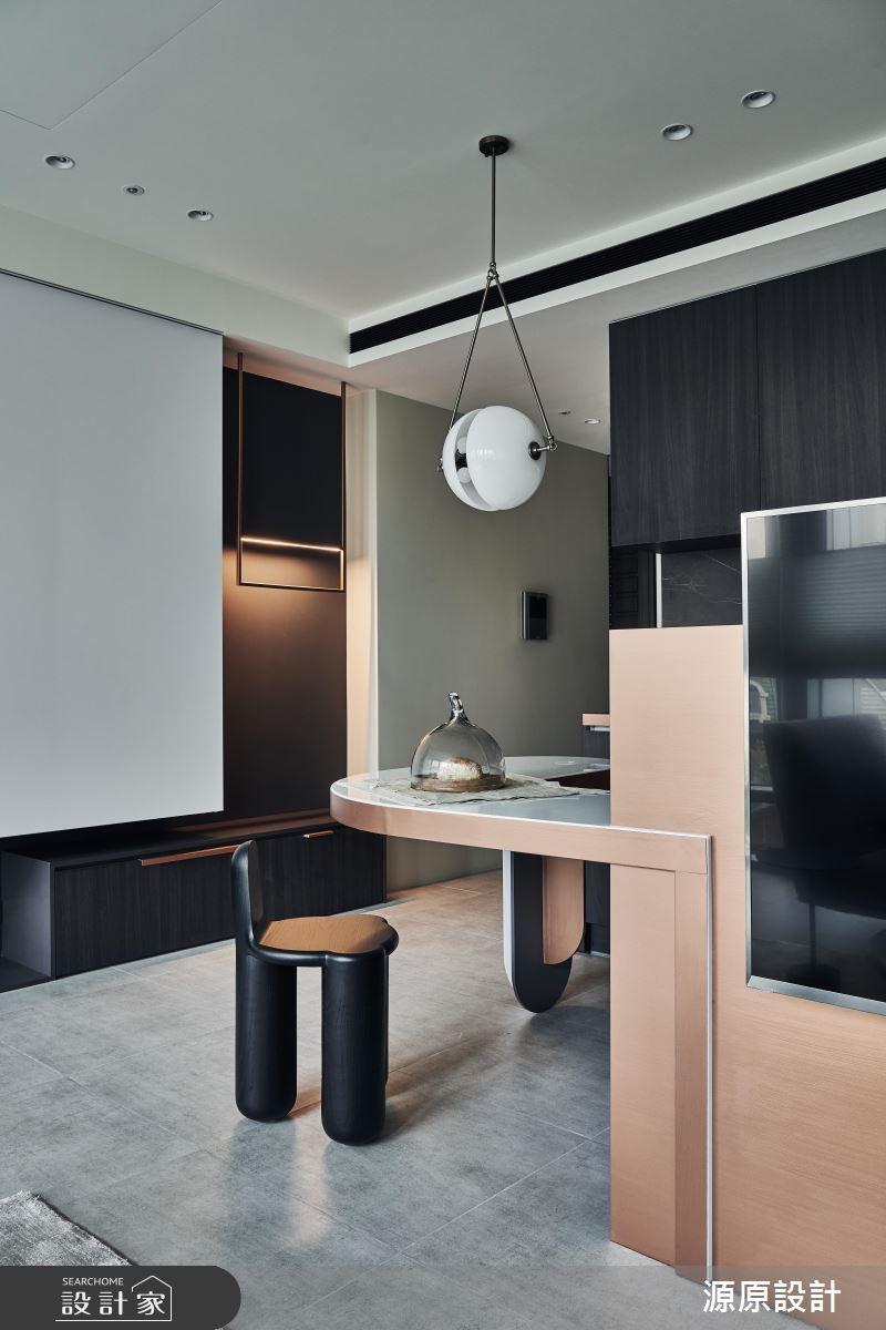 16坪新成屋(5年以下)_現代風餐廳案例圖片_源原設計 Peny Hsieh Interiors_源原_20之4