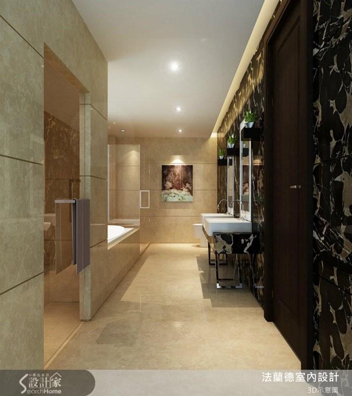 110坪新成屋(5年以下)_新古典浴室案例圖片_法蘭德室內設計_法蘭德_05之4