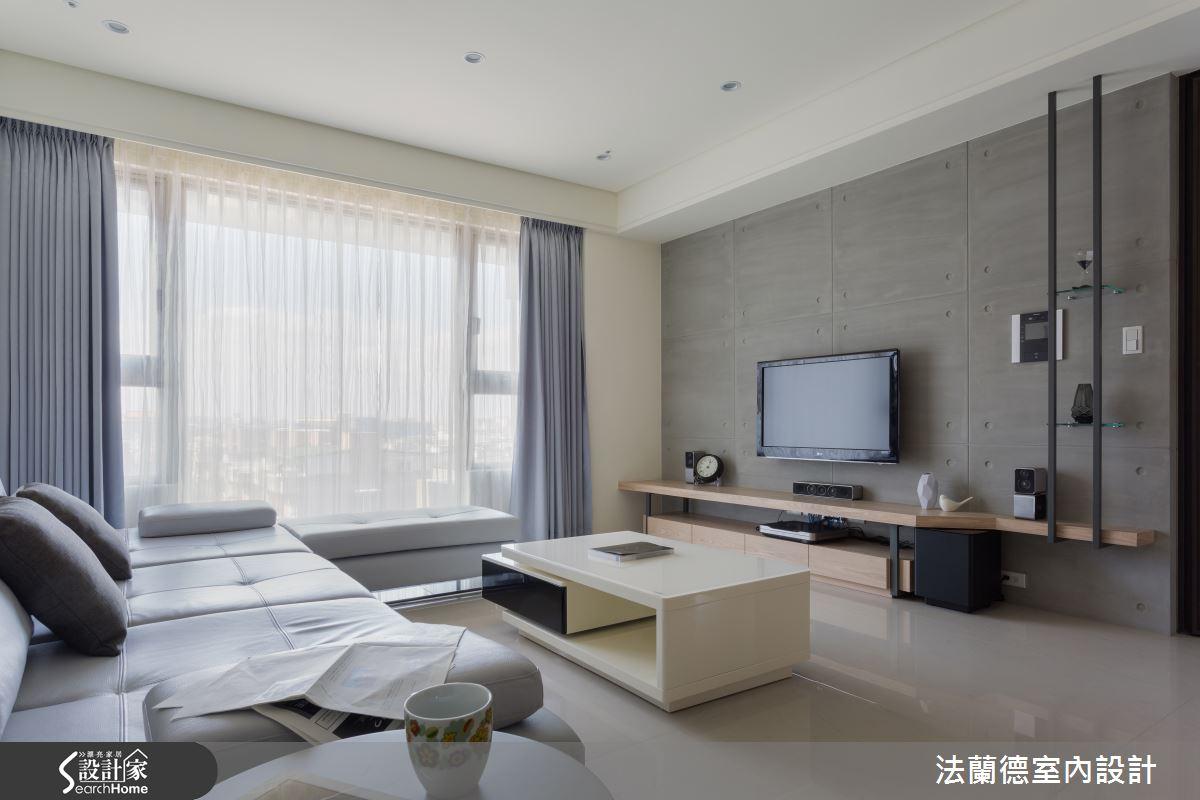 40 坪的灰調現代宅 給你城市中的歸屬感