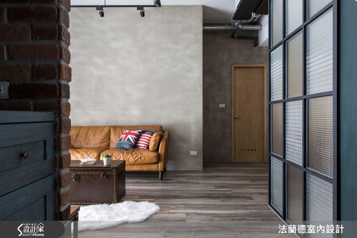 30坪新成屋(5年以下)_工業風案例圖片_法蘭德室內設計_法蘭德_18之1