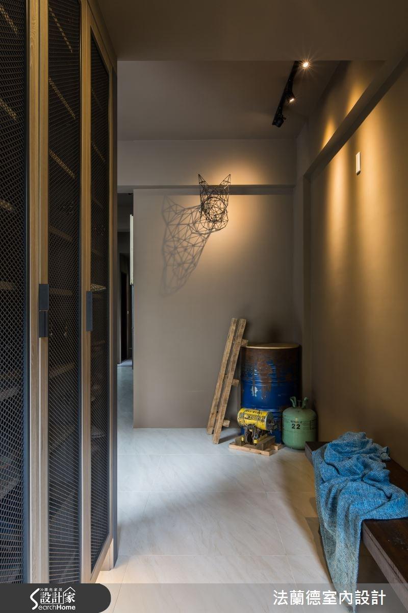 110坪新成屋(5年以下)_工業風玄關案例圖片_法蘭德室內設計_法蘭德_20之5