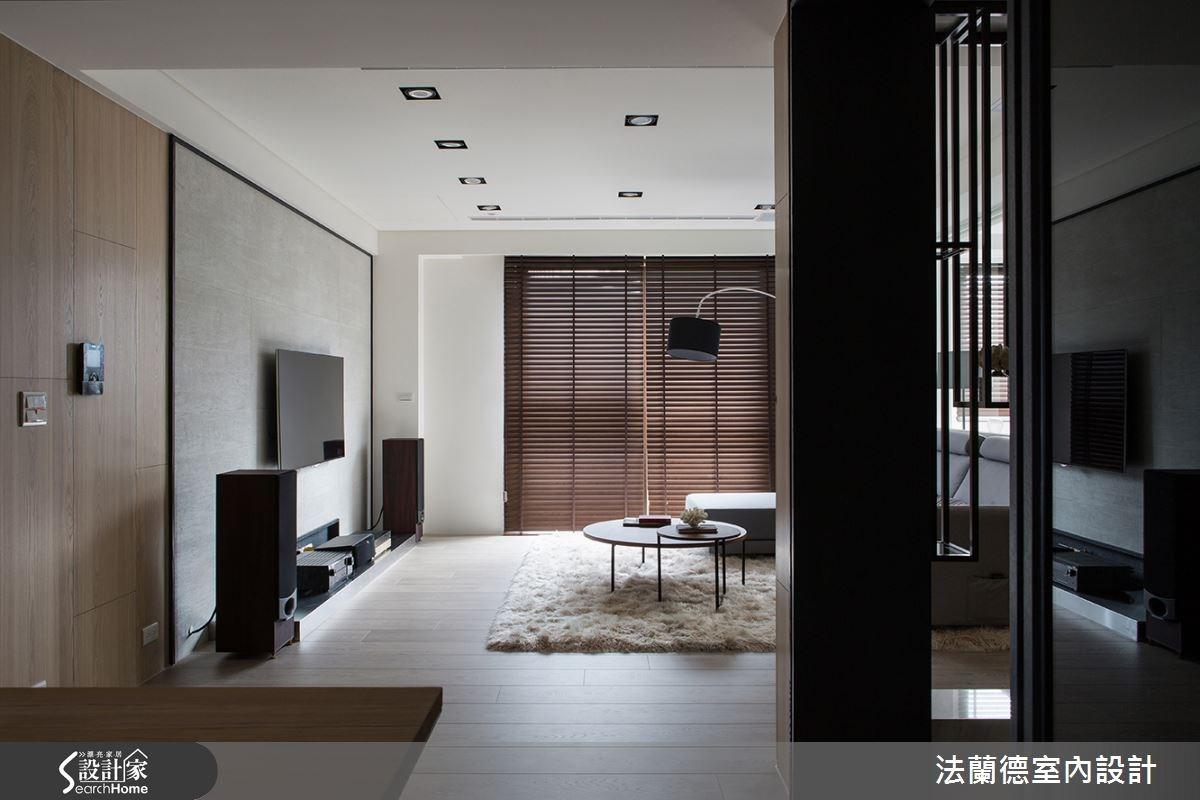 55坪新成屋(5年以下)_現代風客廳案例圖片_法蘭德室內設計_法蘭德_21之4