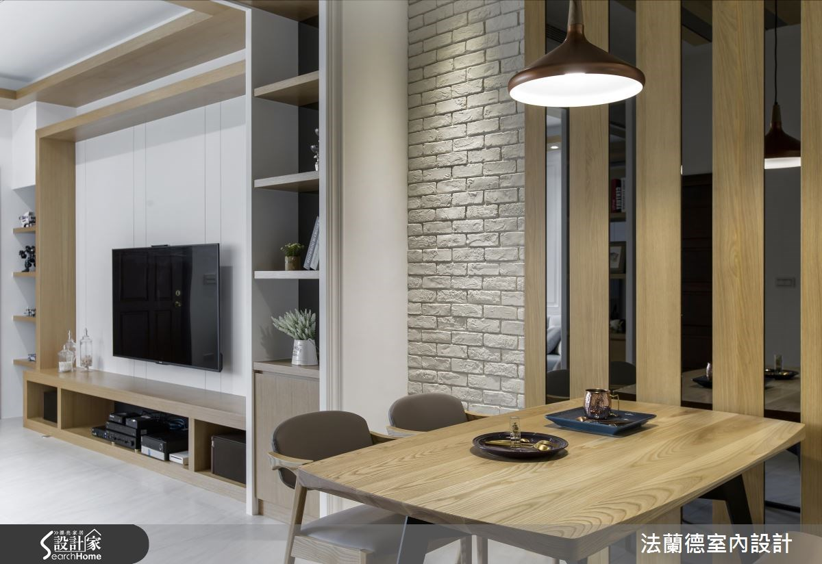60坪新成屋(5年以下)_混搭風餐廳廚房案例圖片_法蘭德室內設計_法蘭德_23之4