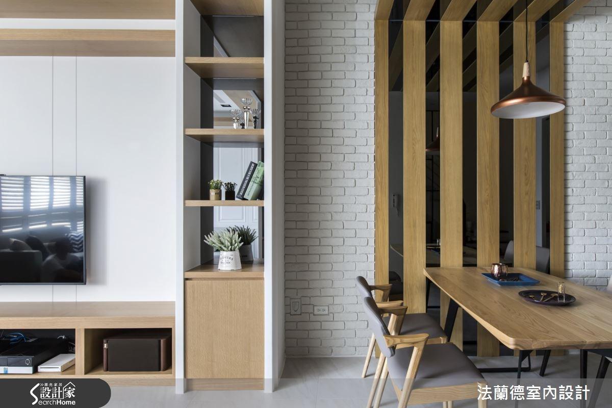 60坪新成屋(5年以下)_混搭風客廳餐廳案例圖片_法蘭德室內設計_法蘭德_23之5