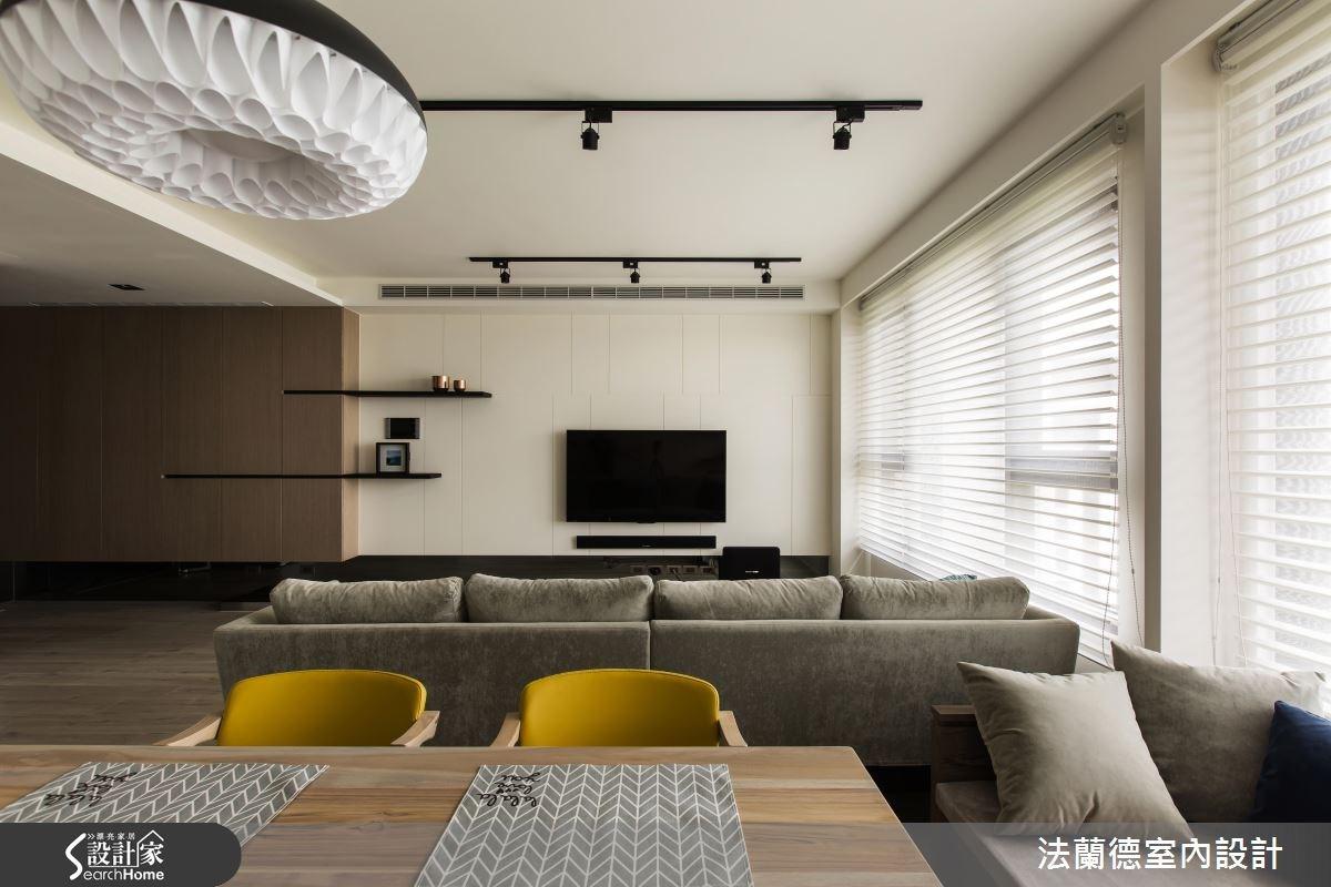 25坪新成屋(5年以下)_混搭風客廳餐廳案例圖片_法蘭德室內設計_法蘭德_24之6