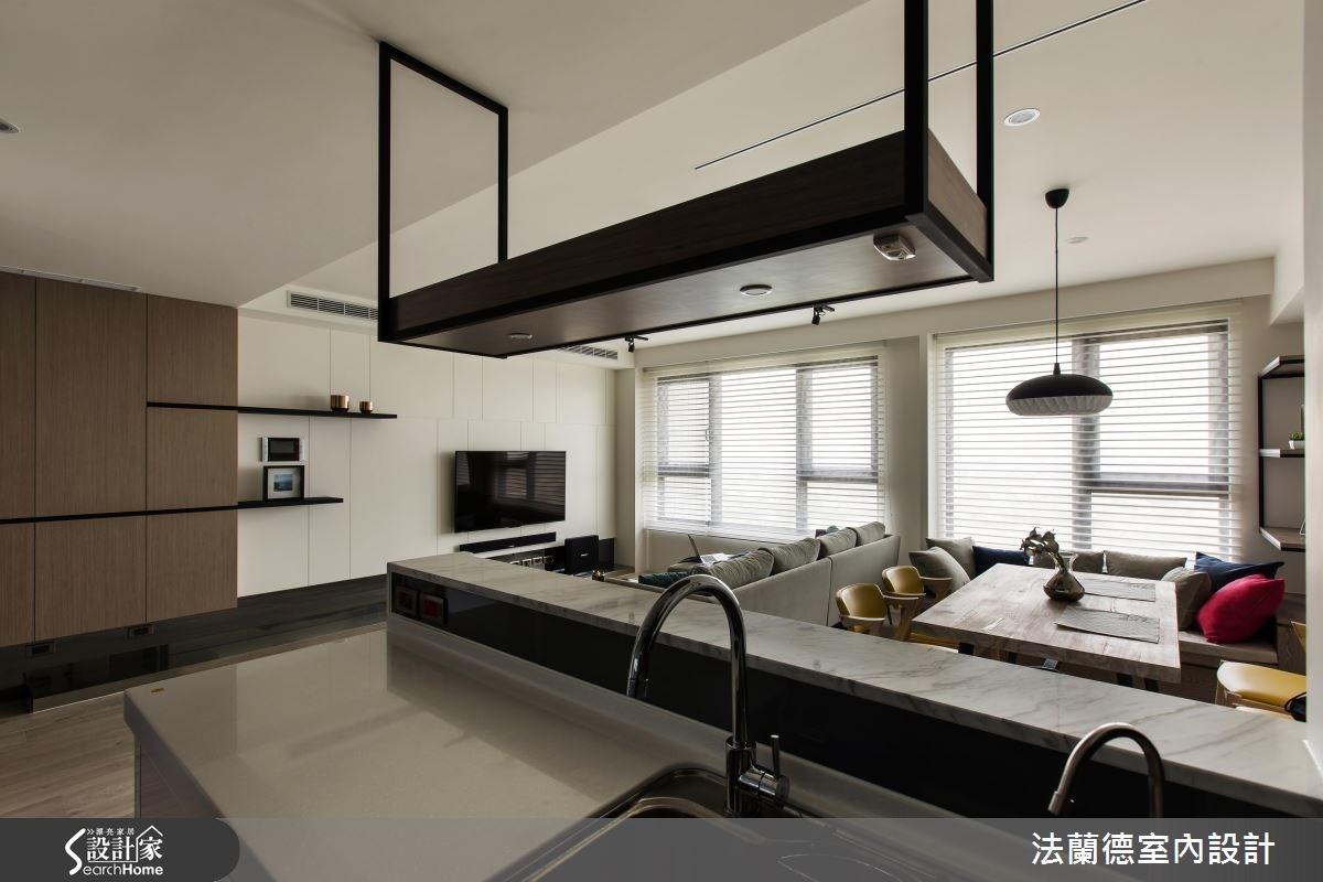 25坪新成屋(5年以下)_混搭風吧檯案例圖片_法蘭德室內設計_法蘭德_24之10