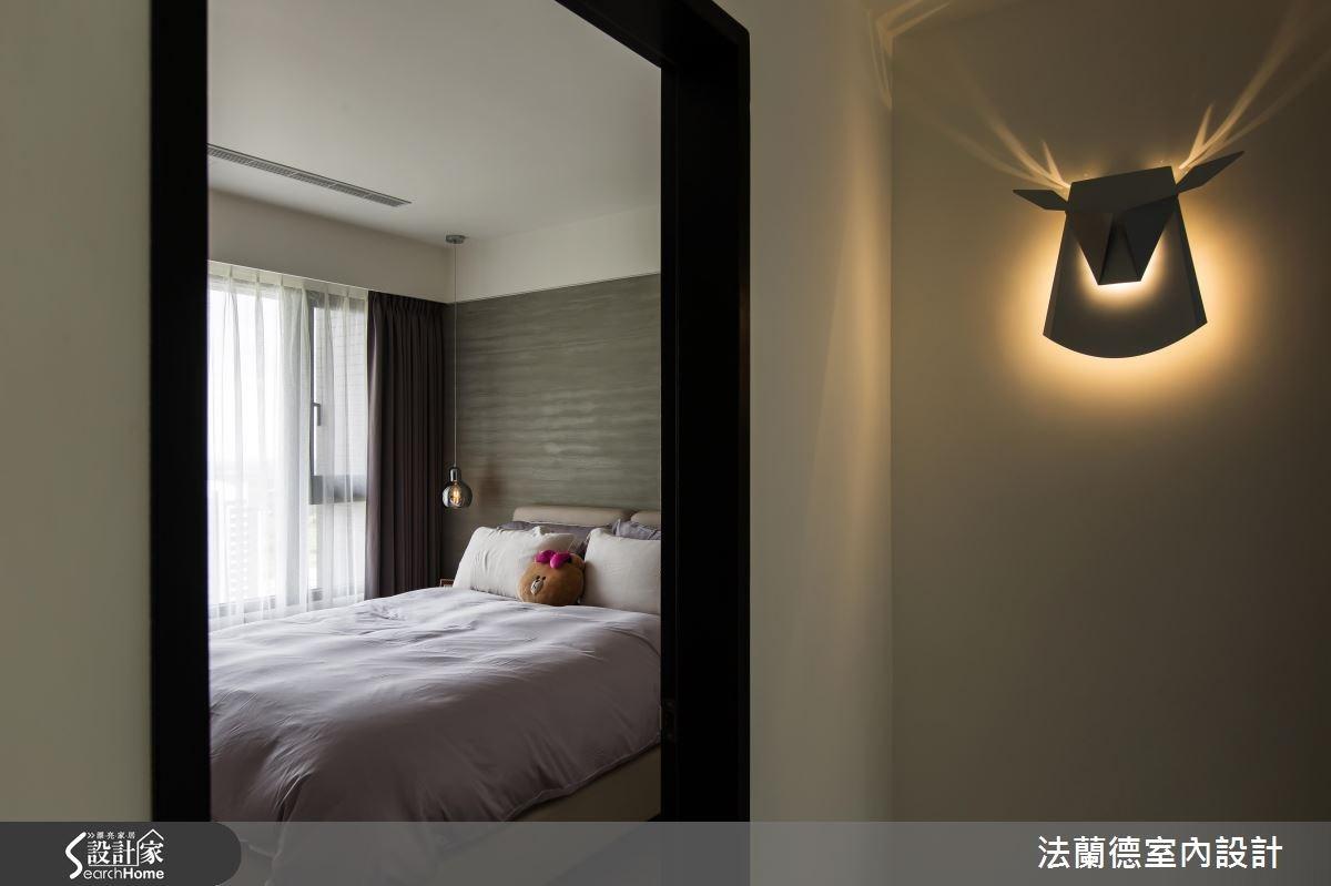 25坪新成屋(5年以下)_混搭風臥室案例圖片_法蘭德室內設計_法蘭德_24之12