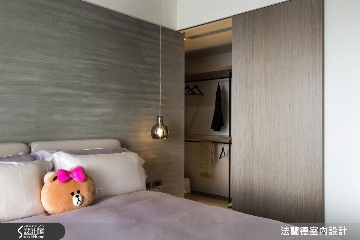 25坪新成屋(5年以下)_混搭風臥室案例圖片_法蘭德室內設計_法蘭德_24之15