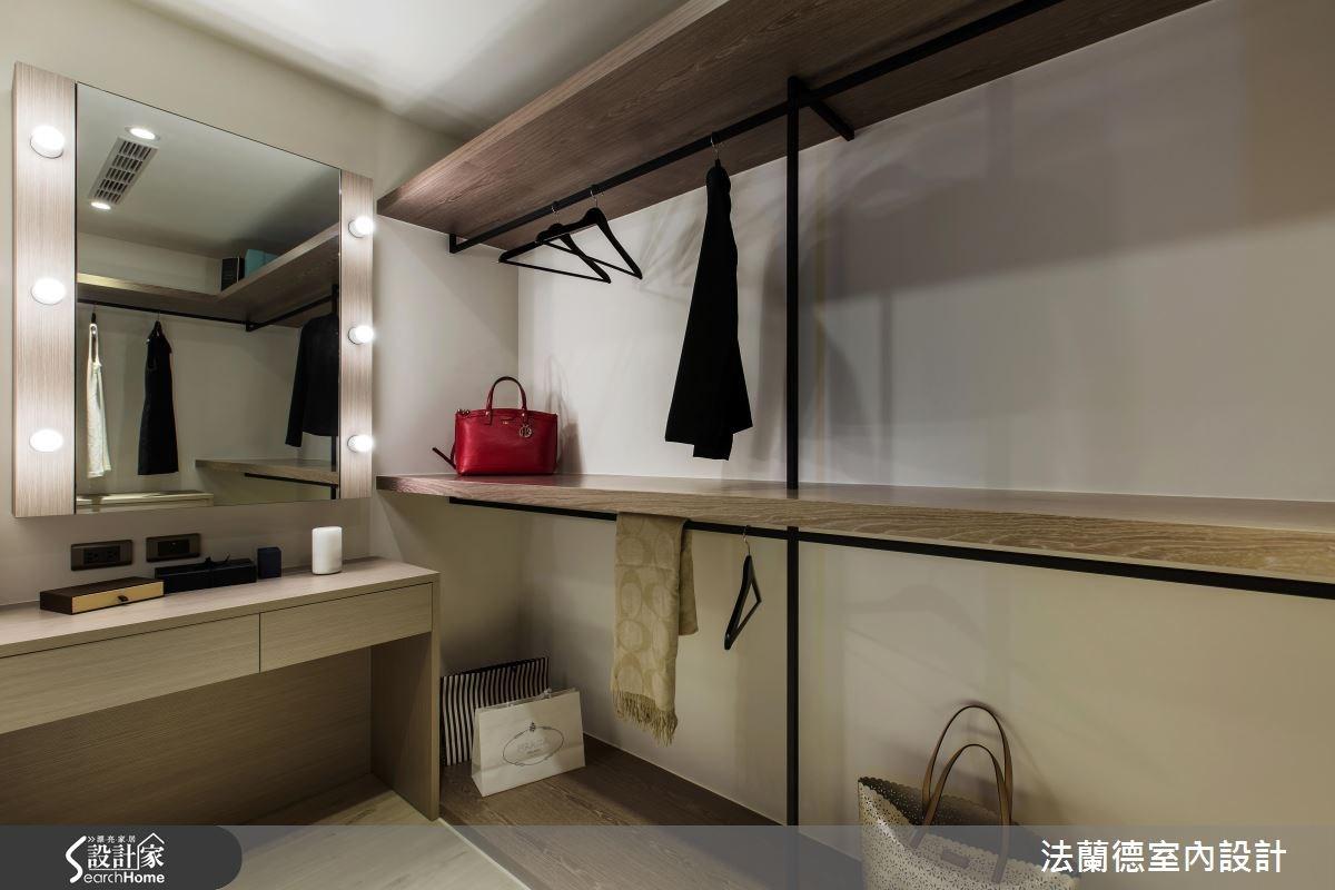 25坪新成屋(5年以下)_混搭風更衣間案例圖片_法蘭德室內設計_法蘭德_24之16