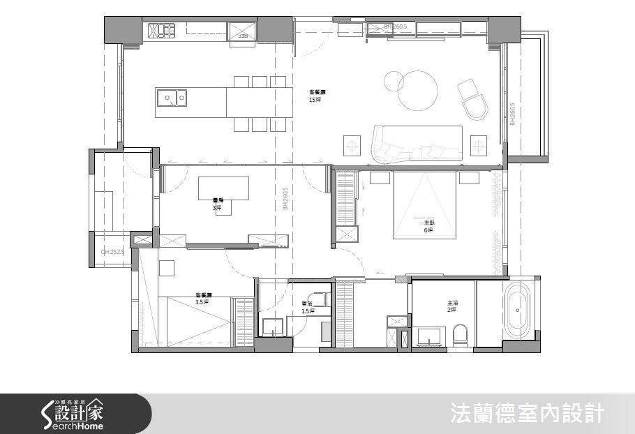 31坪新成屋(5年以下)_現代風案例圖片_法蘭德室內設計_法蘭德_26之15