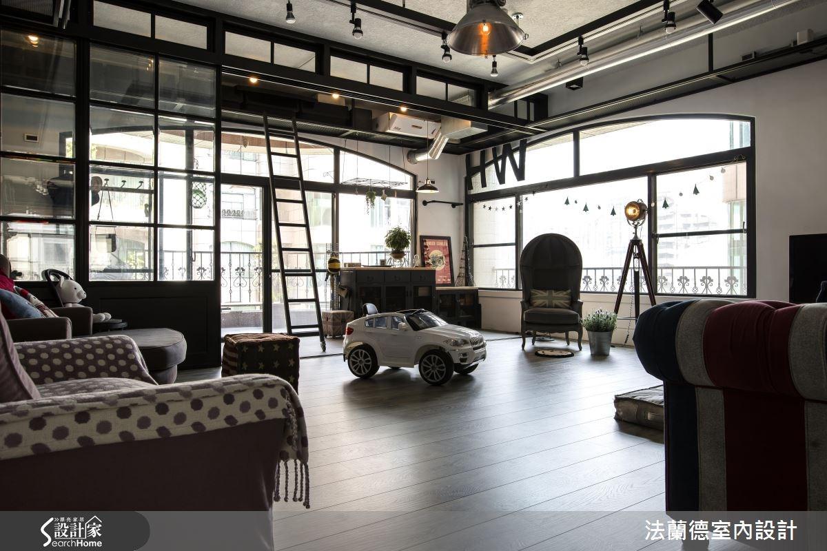 42坪老屋(16~30年)_工業風餐廳案例圖片_法蘭德室內設計_法蘭德_27之4