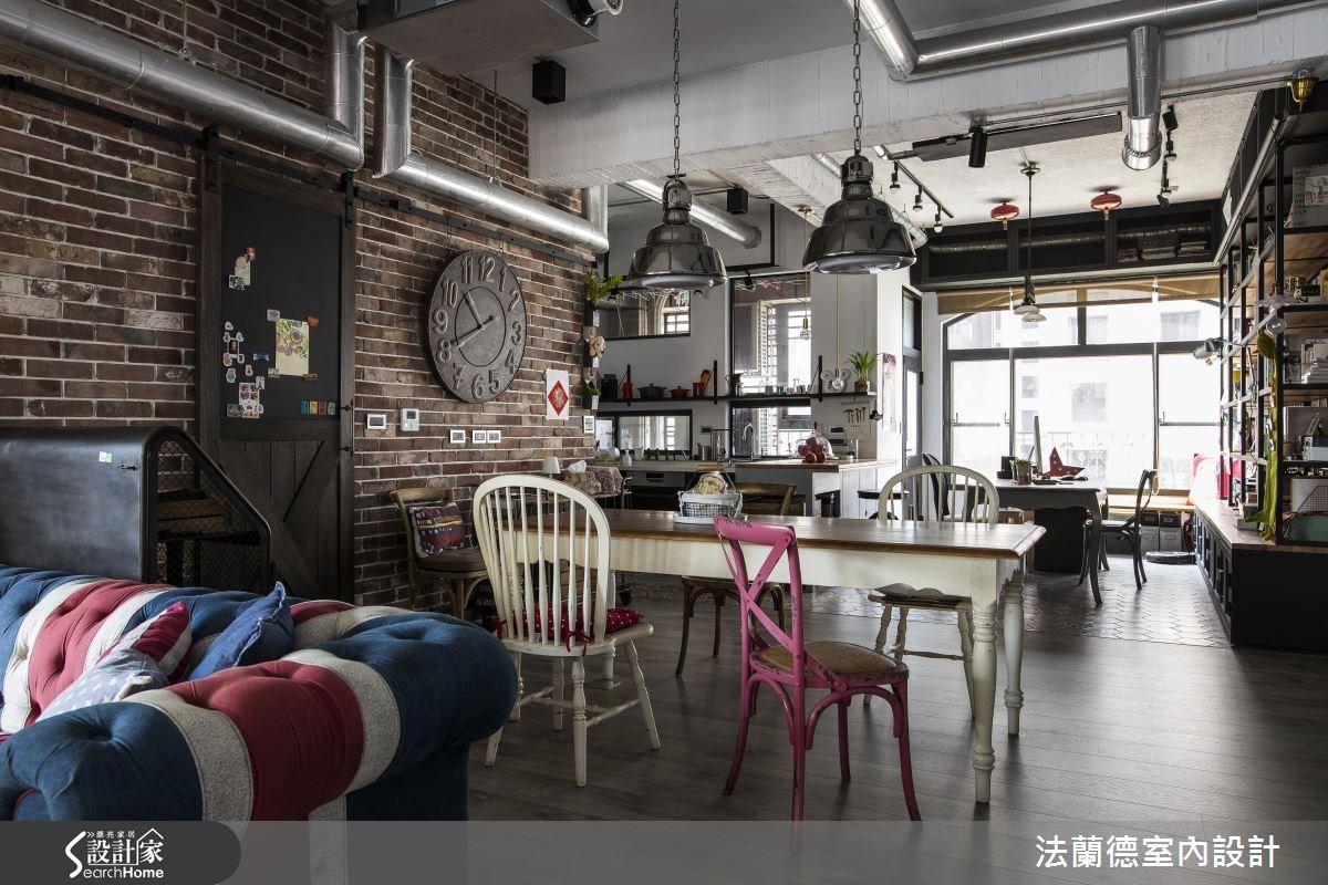 42坪老屋(16~30年)_工業風餐廳案例圖片_法蘭德室內設計_法蘭德_27之6