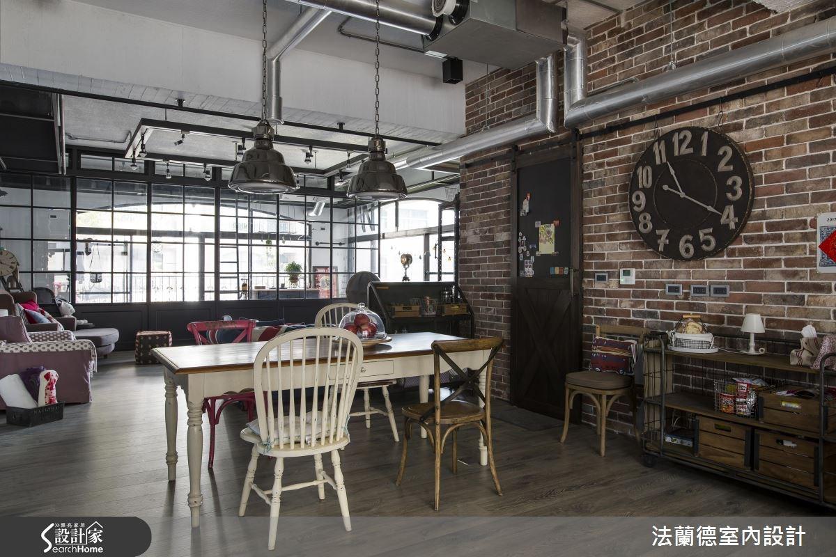 42坪老屋(16~30年)_工業風餐廳案例圖片_法蘭德室內設計_法蘭德_27之7