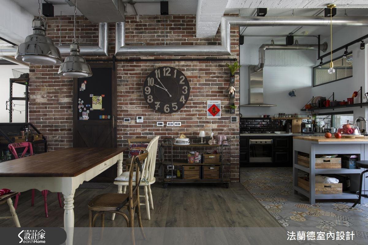 42坪老屋(16~30年)_工業風餐廳案例圖片_法蘭德室內設計_法蘭德_27之8