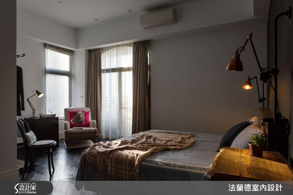 42坪老屋(16~30年)_工業風臥室案例圖片_法蘭德室內設計_法蘭德_27之16