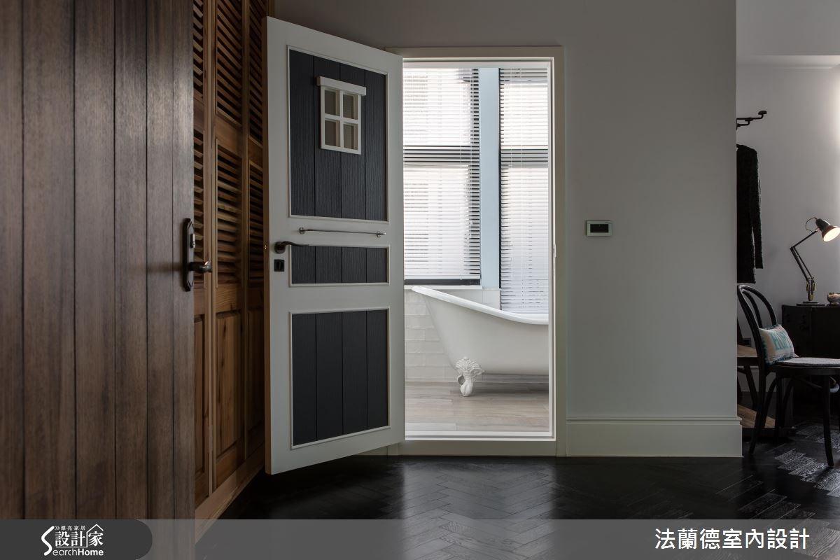 42坪老屋(16~30年)_工業風臥室浴室案例圖片_法蘭德室內設計_法蘭德_27之17