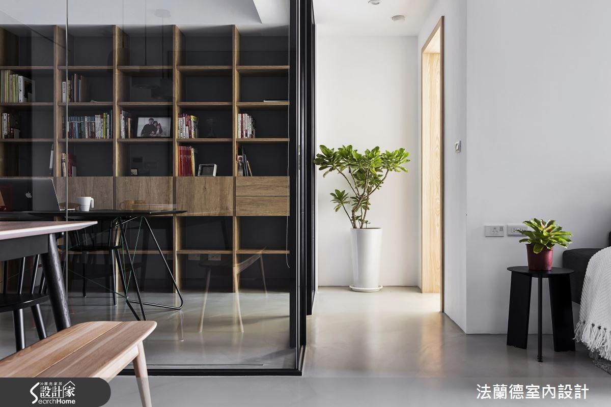 35坪新成屋(5年以下)_簡約風書房案例圖片_法蘭德室內設計_法蘭德_28之5
