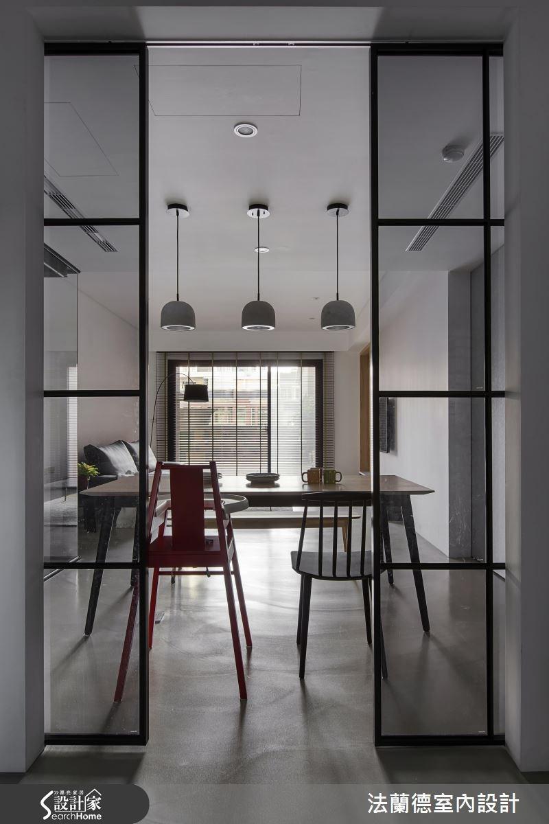 35坪新成屋(5年以下)_簡約風餐廳案例圖片_法蘭德室內設計_法蘭德_28之6