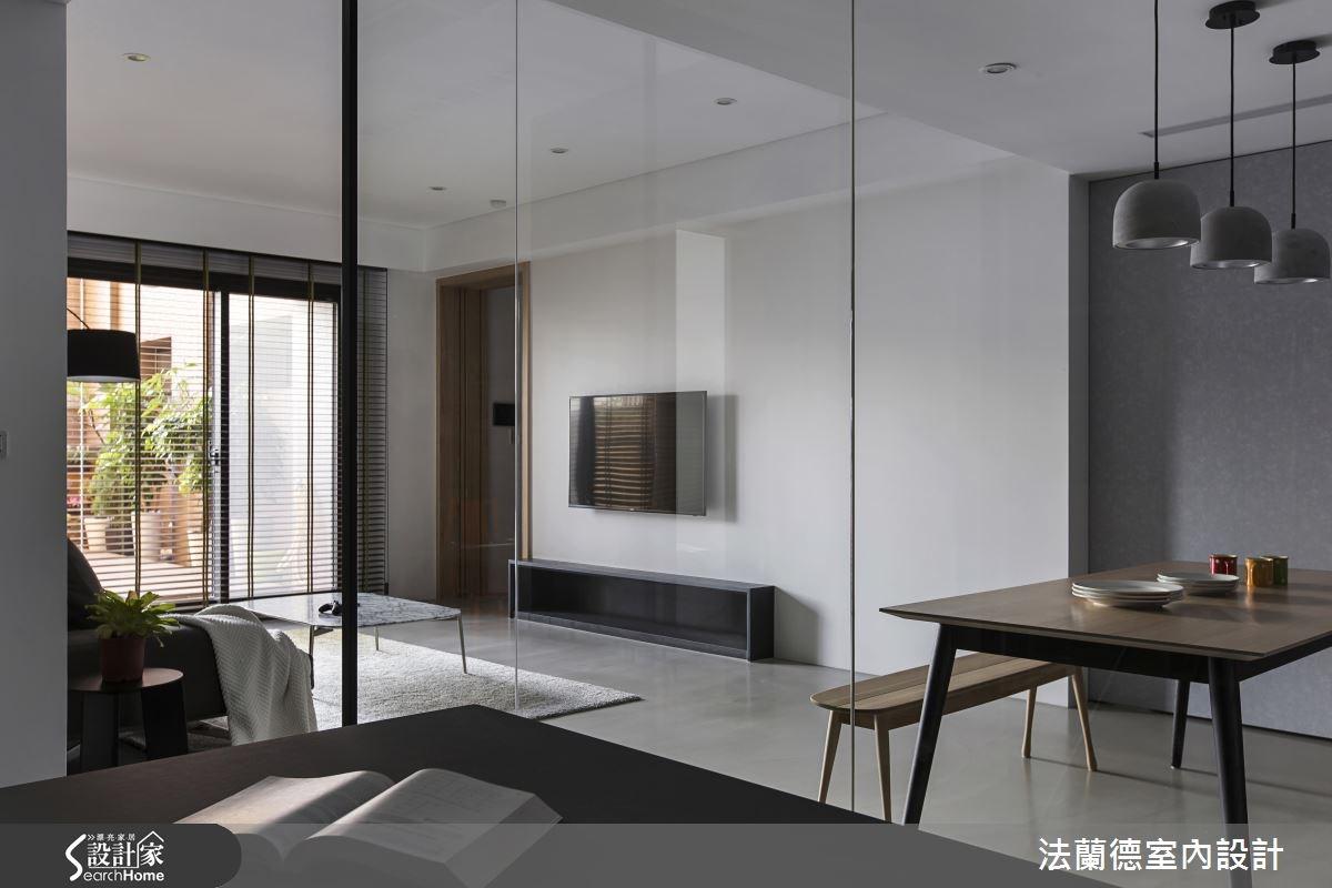 35坪新成屋(5年以下)_簡約風餐廳書房案例圖片_法蘭德室內設計_法蘭德_28之7